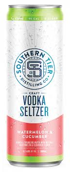 Southern Tier Vodka Seltzer Watermelon & Cucumber - 4pk Cans