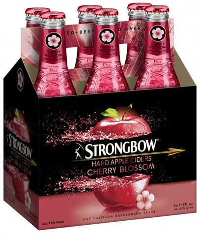 Strongbow Cider Cherry Blossom 6Pk