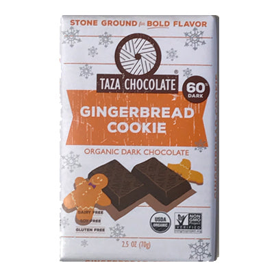 Taza Chocolate Gingerbread Cookie Amaze Bar