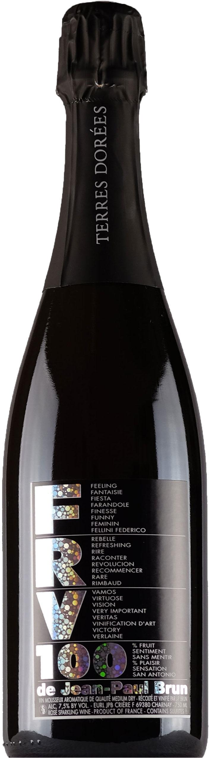 Terres Dorees FRV 100 Sparkling Rose Gamay