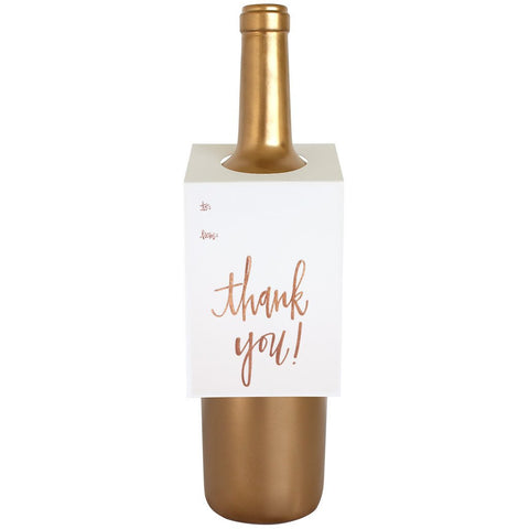 Wine & Spirit Gift Tag, THANK YOU