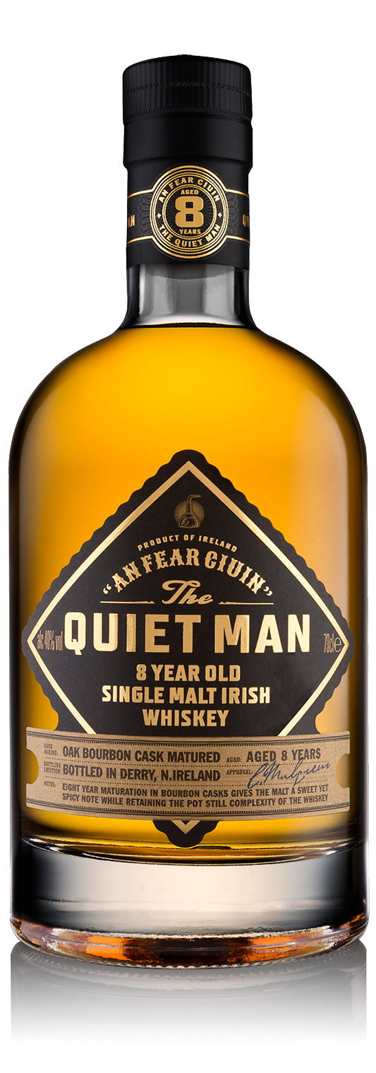 Quiet Man 8yr Irish Whiskey