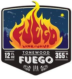 Tonewood Brewing Fuego IPA 6pk Cans