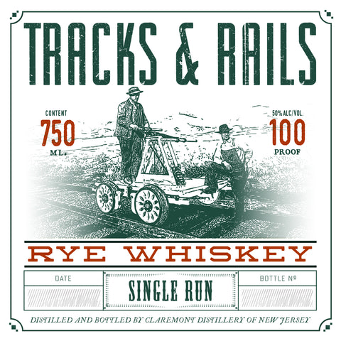 Claremont Track and Trail Rye Whiskey