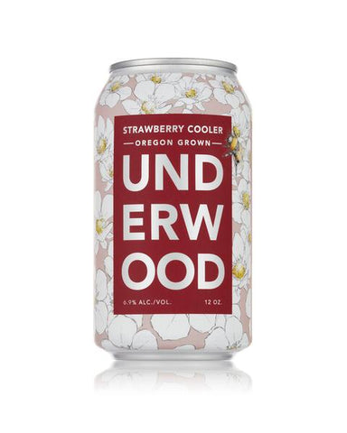 Underwood Cellars Strawberry Cooler - 12oz Can