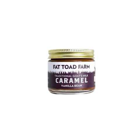 FAT TOAD CARAMEL: The Petit Caramel Jar - Vanilla (2oz)