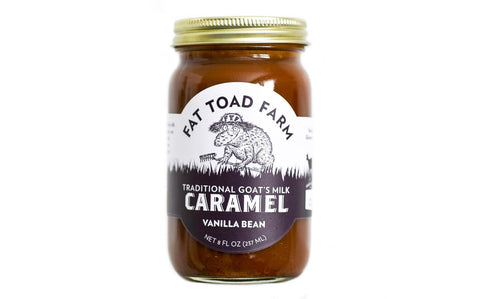 FAT TOAD CARAMEL: The Classic Caramel Jar - Vanilla (8oz)