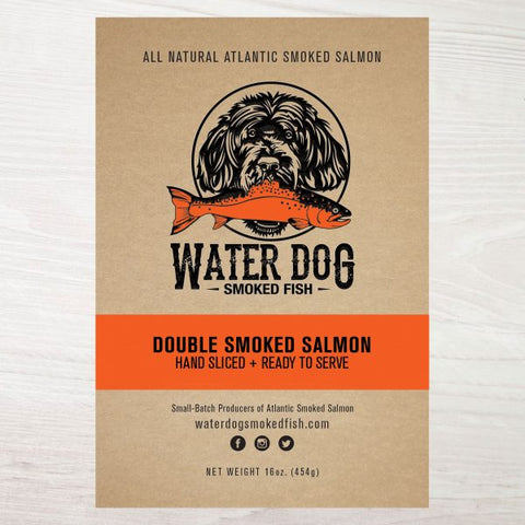 Water Dog Double Smoked Salmon 4oz