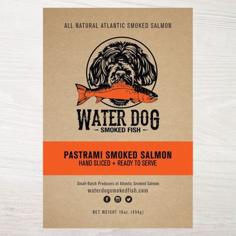 Water Dog Pastrami Smoked Salmon 4oz