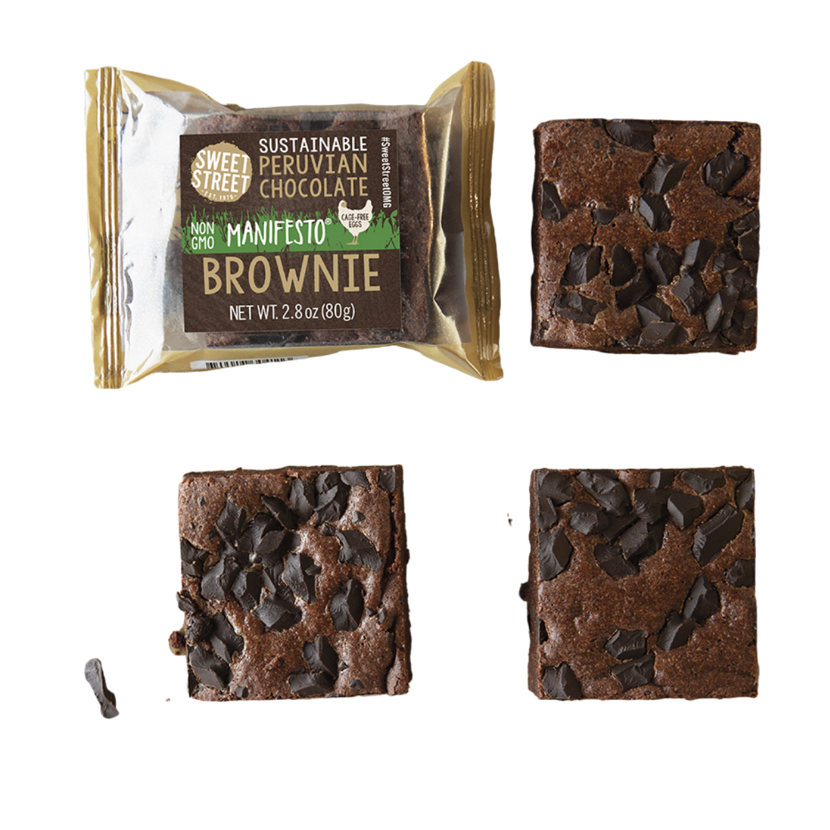 Sweet Street Peruvian Chocolate Manifesto Brownie