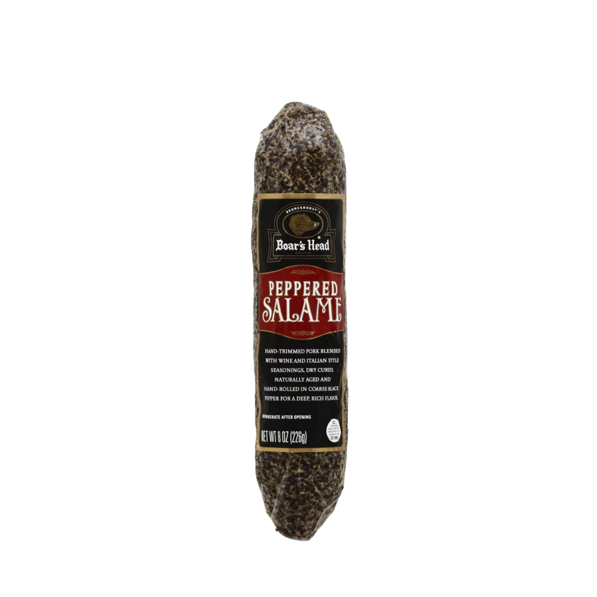 Boar's Head Uncured Peppered Salame