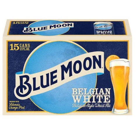 Blue Moon 15 Pack (Can)