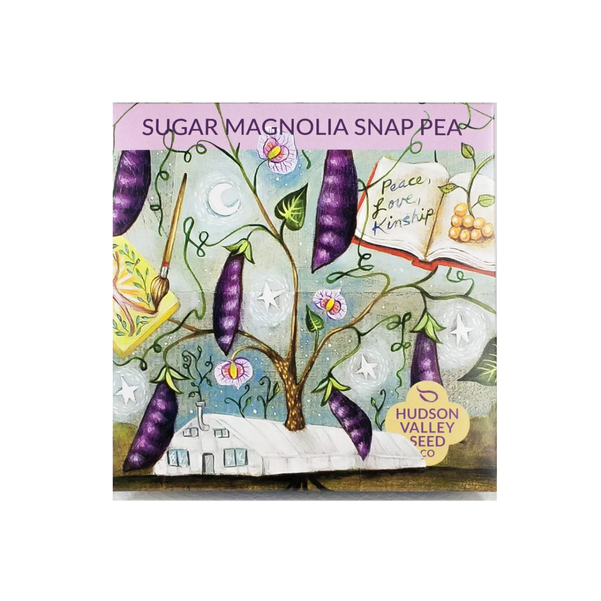 Hudson Valley Seed Co Sugar Magnolia Snap Pea