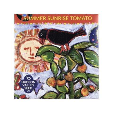 Hudson Valley Seed Co Summer Sunrise Tomato