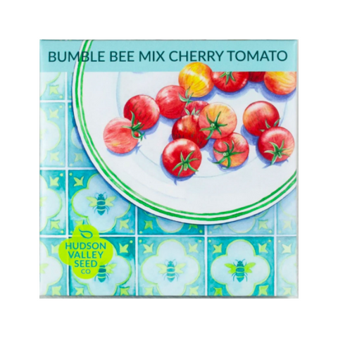 Hudson Valley Seed Co Bumble Bee Mix Cherry Tomato