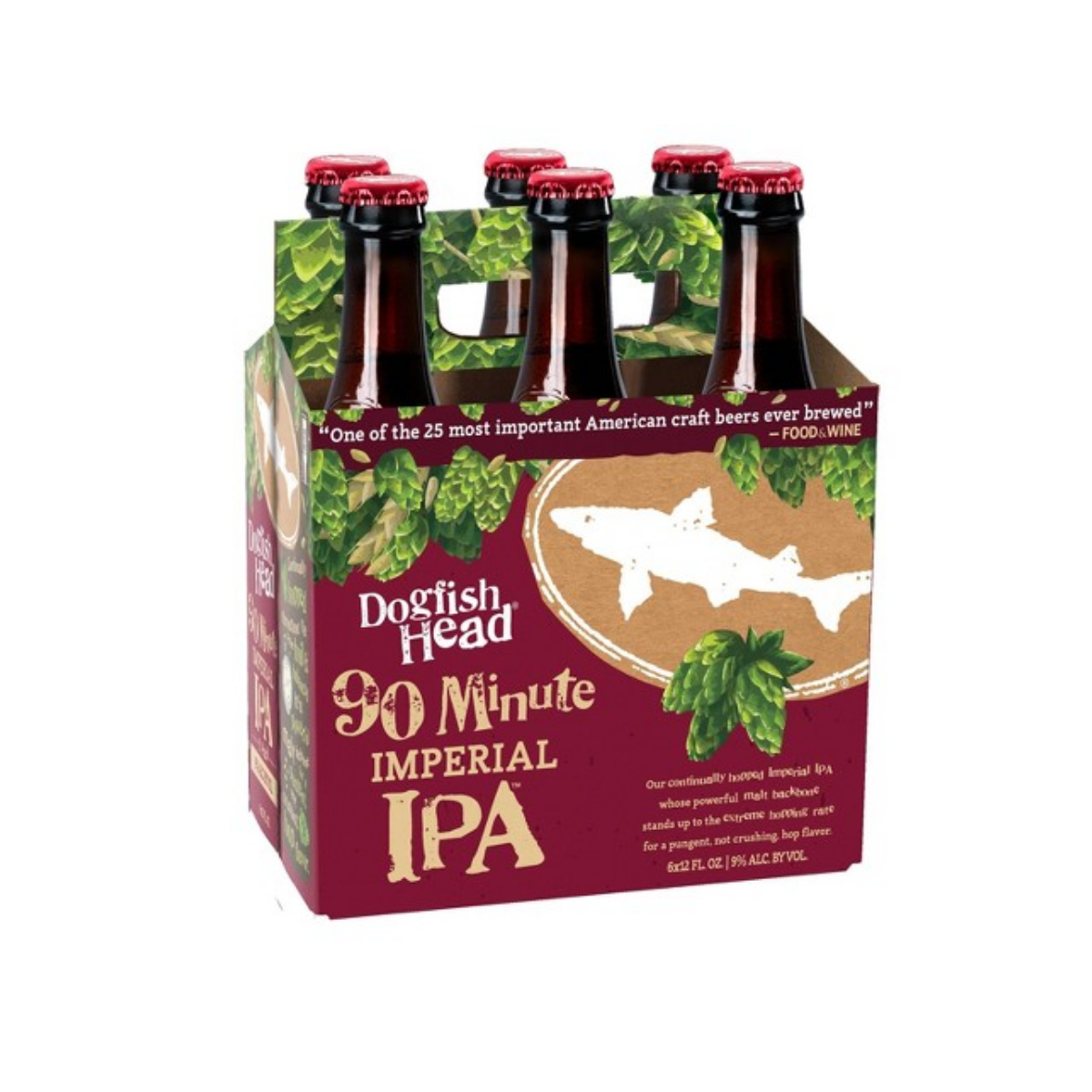 DogFish Head 90 Minute IPA 6PK Bottles