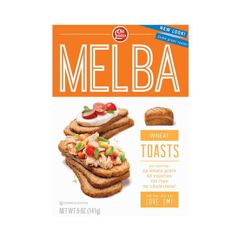 Old London Wheat Melba Toast