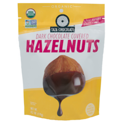 Taza Organic Chocolate Covered Hazelnuts