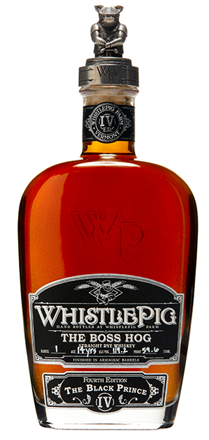 Whistle Pig The Boss Hog 4th Edition The Black Prince