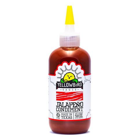 Yellowbird Jalapeño Condiment