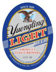 Yuengling Premium Light Suitcase Cans