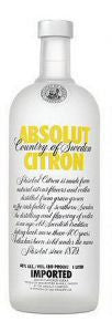 Absolut Vodka Citron 80