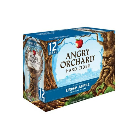 ANGRY ORCHARD CRISP APPLE 12PK CAN