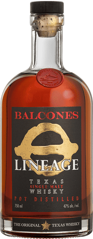 Balcones Lineage Single Malt Whiskey
