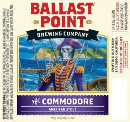 Ballast Point Commodore American Stout 6Pk