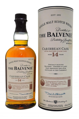 Balvenie 14yr Caribbean Rum Cask Single Malt Scotch