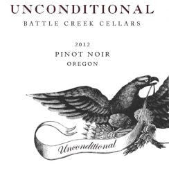 Battle Creek Cellars Unconditional Pinot Noir