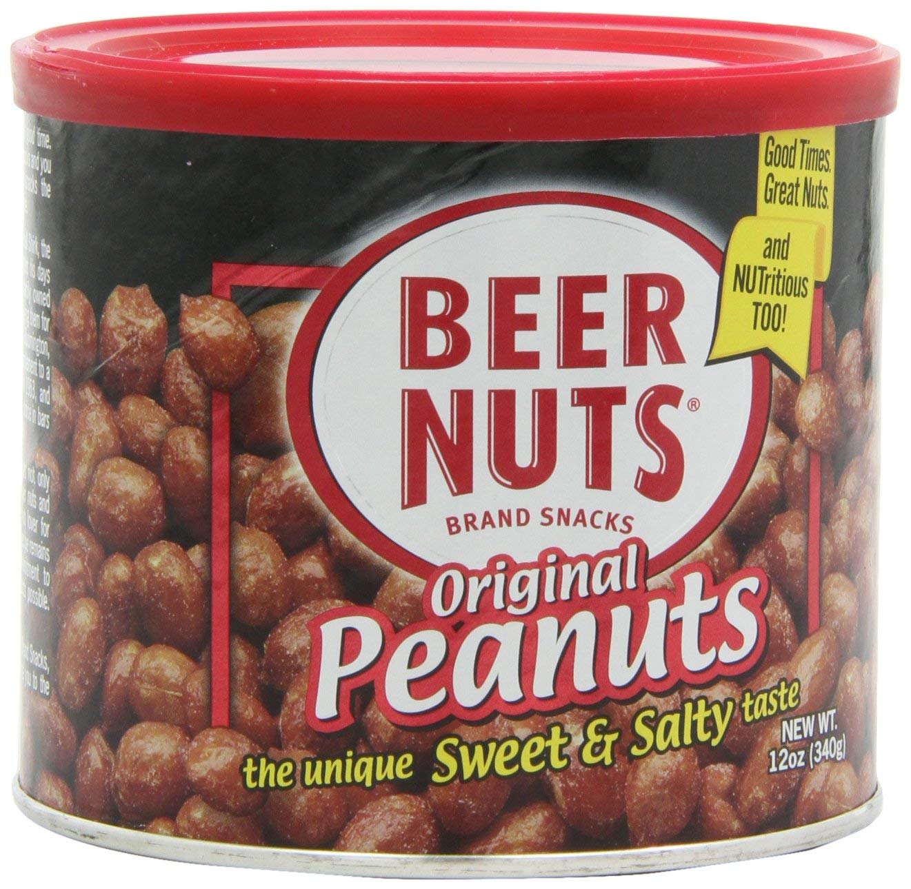 Beer Nuts 12oz Can