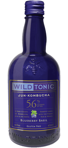 Wild Tonic Jun Kombucha - Blueberry Basil