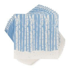True Blue Birch Cocktail Napkins - 20pk