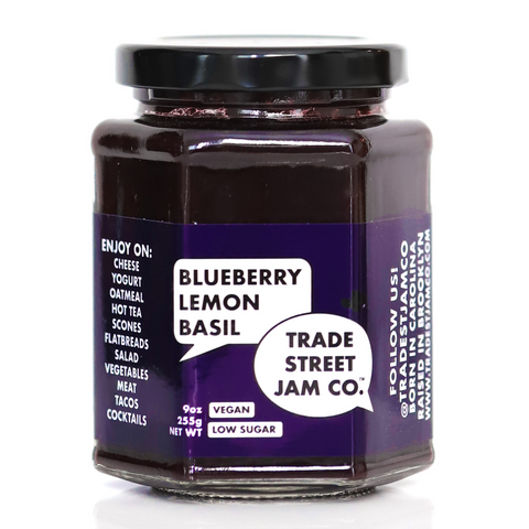 Trade Street Jam Co. Blueberry Lemon Basil Jam