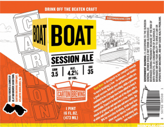Carton Brewing Boat Session Ale 4Pk Can