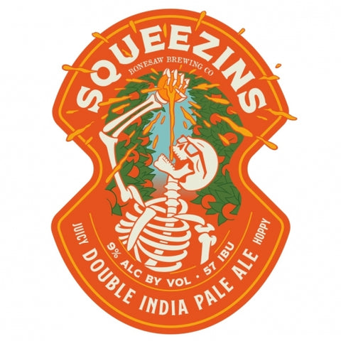 Bonesaw Brewing Squeezins IPA 4pk Can
