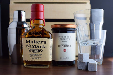 Bourbon Drinker Gift Basket