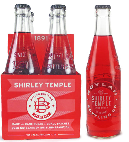 Boylan Shirley Temple 4-Pack