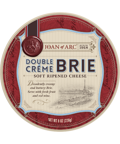 Joan of Arc Double Creme Brie Round