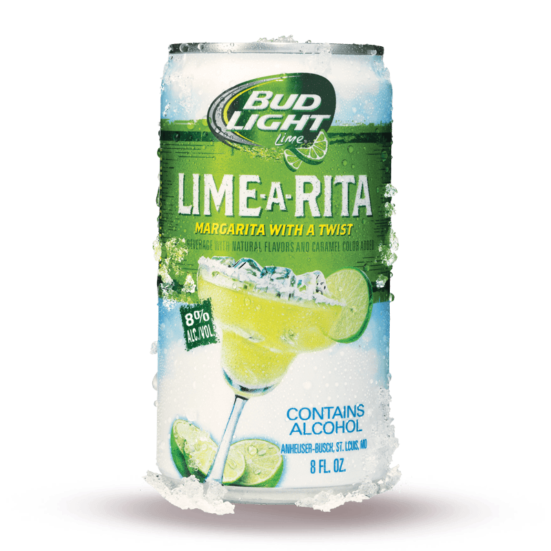 Bud 16 Oz 4Pk Can Lime A Rita