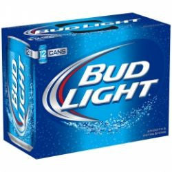 Bud Light 12oz Loose Cans