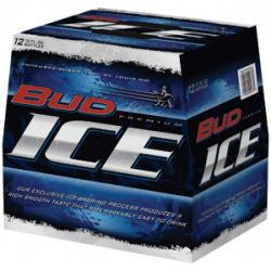 Bud Ice 12 Pk Bottles
