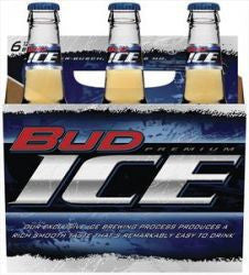 Bud Ice 6Pk Bottles