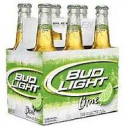Bud Light Lime 12 Oz 6 Pk Bottles