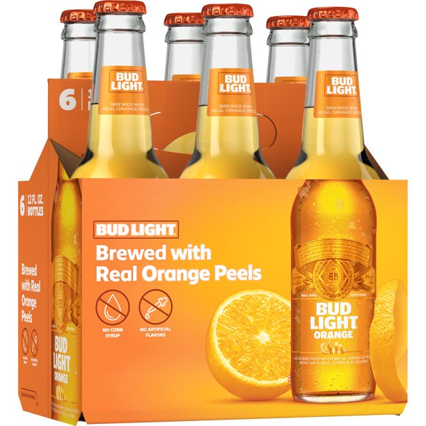 Bud Light Orange 12oz 6pk Bottles