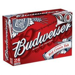 Budweiser 12 Oz Cans Loose