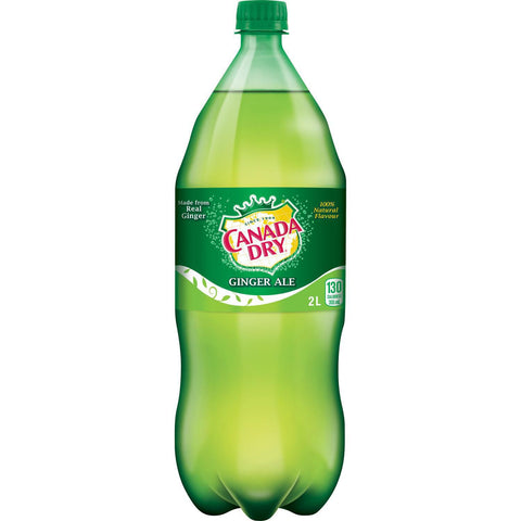 Canada Dry Ginger Ale 2LTR