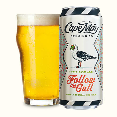 Cape May Brewing Follow The Gull 4pk Can