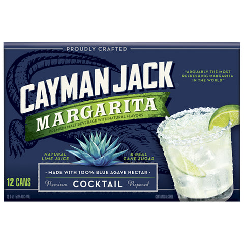 Cayman Jack Margarita 12pk Can